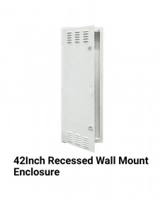 "Databoard 42"" Wall Mounted Flush"