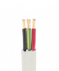 2.5MM 2C+E FLAT TPS Cable - 100 Mtrs