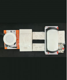 Cabins Sleep-out Complete Electrical Kit