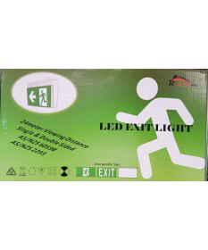 LED Exit Light Wall/Ceiling Mounted
