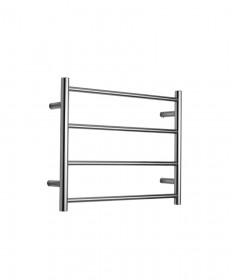 Heated Towel Rail 4 Bar Round