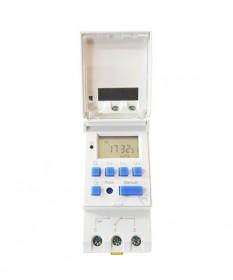 Programmable 7day Timer din mount 2 pole AC110-240V