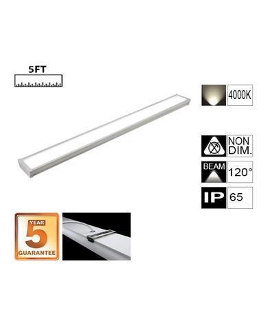 LED Tri-Proof Batten Light-5FT