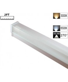 LED Single Diffused Batten 2FT