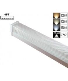 LED Single Diffused Batten 4FT