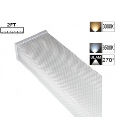 LED Double Diffused Batten 2FT