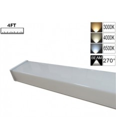 LED Double Diffused Batten 4FT-PC Square
