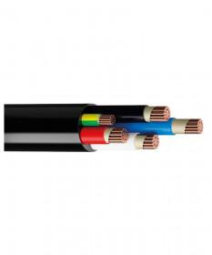 16MM 4C+E Circular Cable-Black