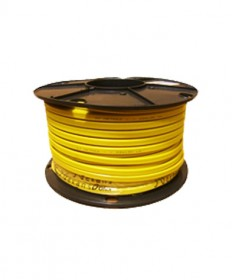 1.0mm 3C (R/W/B) Yellow TPS Cable