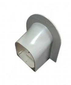Corner Cap 80mm UV Ivory
