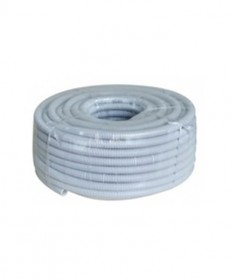 AS49020 20mmø Corrugated Flexible Conduit, MD (Grey) - 10m/roll.