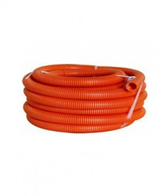 AS50020 20mm  Corrugated Flexible Conduit, HD (Orange) - 10m/roll