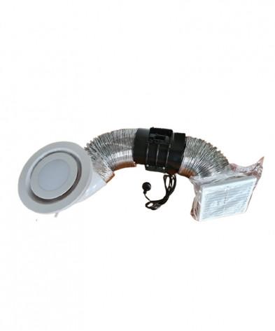 LED 150mm Inline Fan Kit
