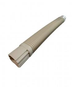 Flex Duct 1.10 Metre 80mm UV Ivory