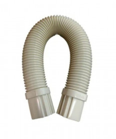 Flex Round Duct 0.67 Metre 80mm UV Ivory