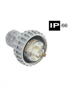 AB66P315F, Industrial Plug, 3 Flat Pins, 15A, 250Vac, IP66 - Grey.