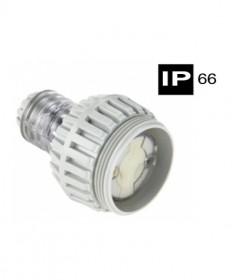 AB66SC315F, Industrial Cord Connector, 3 Flat Pins, 15A, 250Vac, IP66 - Grey.