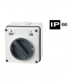 AB66SW110, Industrial Switch, 10A, 250Vac, 1 Pole, IP66