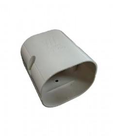 Joint Socket 80mm UV Ivory