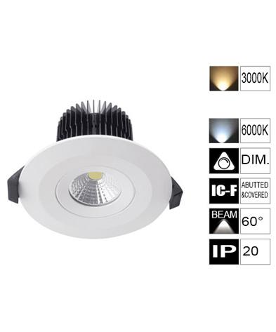 LED COB 10W 75mm (RAV1001-CLC201)