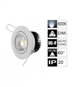 LED COB 7W 75mm