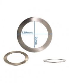 Led Downlight Converter Plate Chrome - 130mm
