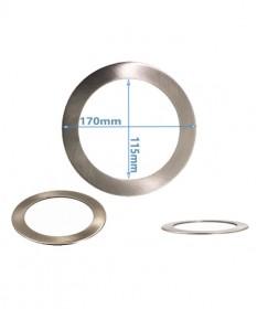 Led Downlight Converter Plate Chrome  170mm