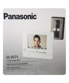 Panasonic Wired Video Intercom VL-SU71AZ-P
