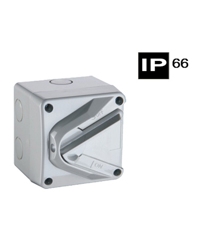 ABWIS220, Mini Isolating Switch, 2P, 1way, 20A, 240Vac, IP66