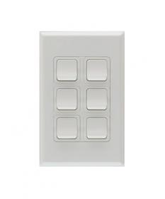 PDL686, 6 Gang Switch 20A, 250Vac