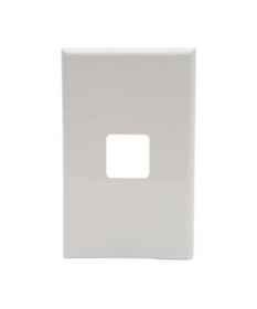 PDL 681VH, 1 Gang Grid and Cover Plate Only