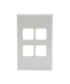 PDL 684VH, 4 Gang Grid and Cover Plate Only