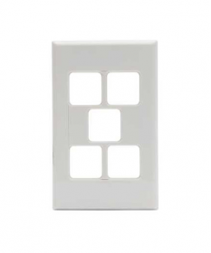 PDL 685VH, 5 Gang Grid and Cover Plate Only